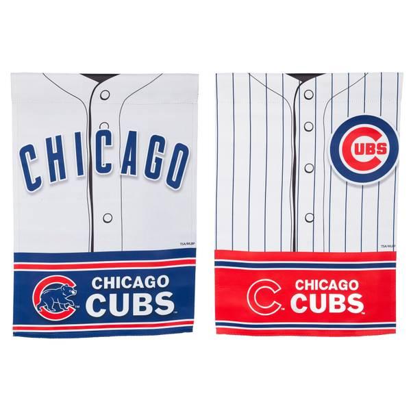 Chicago Cubs Jersey Garden Flag