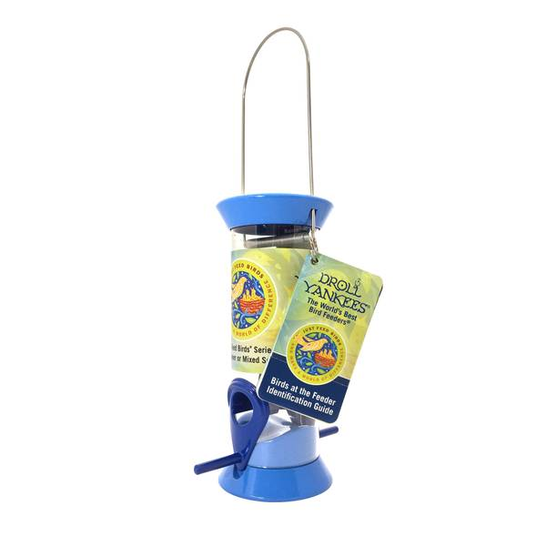 "Just Feed Birds Blue 8"" Songbird Feeder"