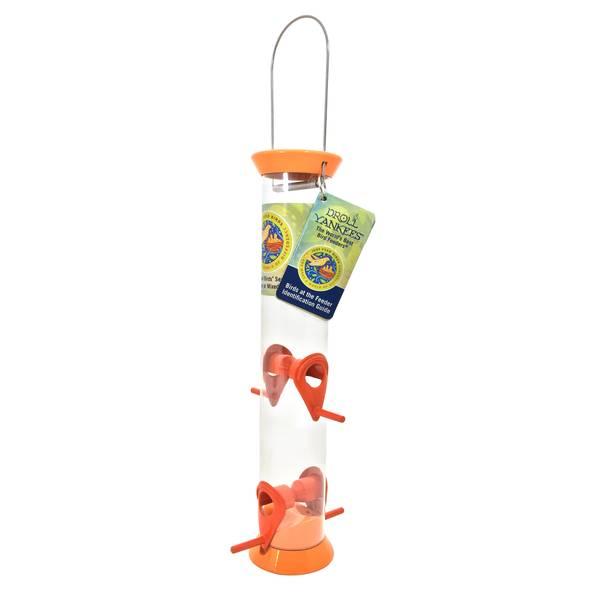 """Just Feed Birds Orange 15"""" Songbird Feeder"""