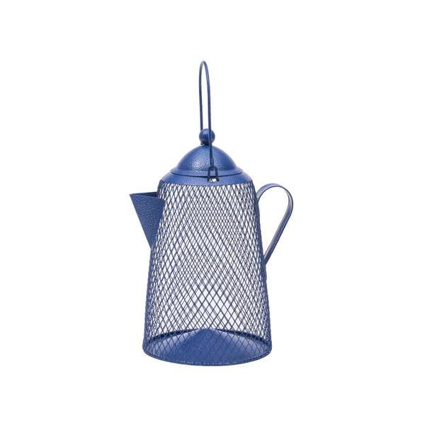 NO/NO Coffee Pot Mesh Bird Feeder