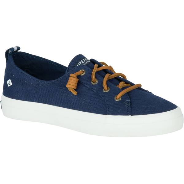 Women's Navy Crest Vibe Sneakers
