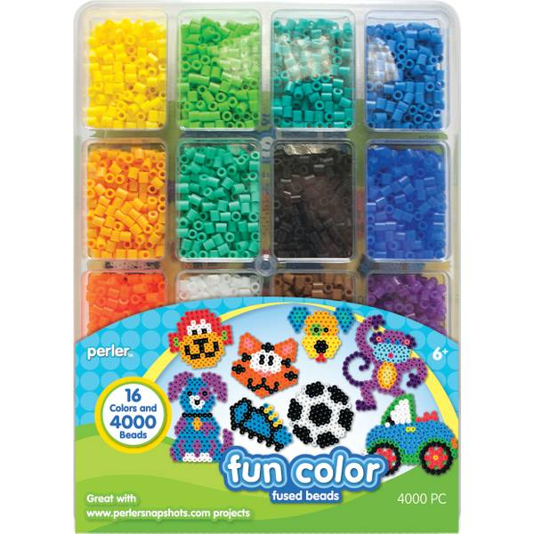 4000-Count Fun Color Fused Bead Tray