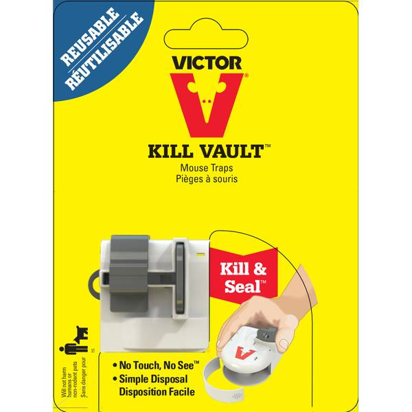 Kill-Vault Mouse Trap