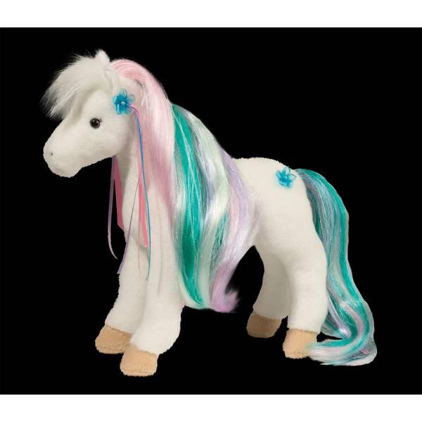 Princess Rainbow White Horse