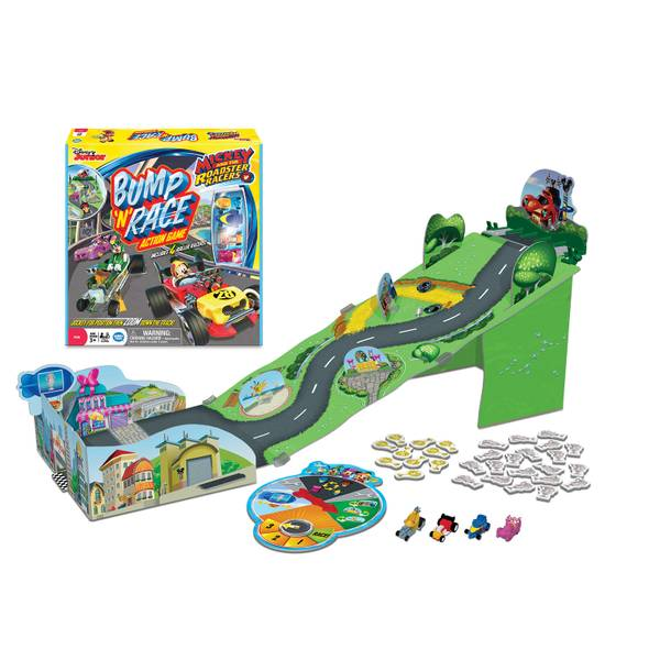 Mickey and the Roadster Racers Bump 'n' Race Game