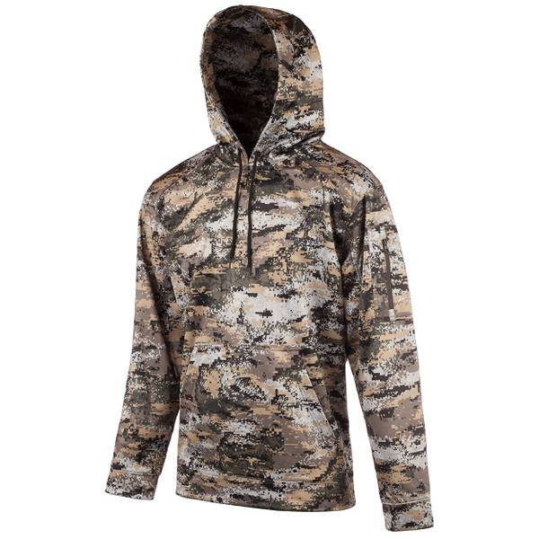Men's Disruption Camouflage Performance Fleece Hoodie