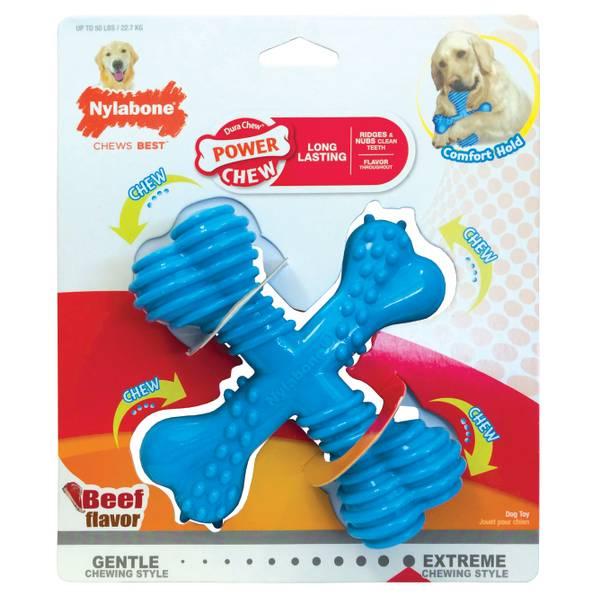 Dura Chew X Bone Beef Flavor Dog Toy
