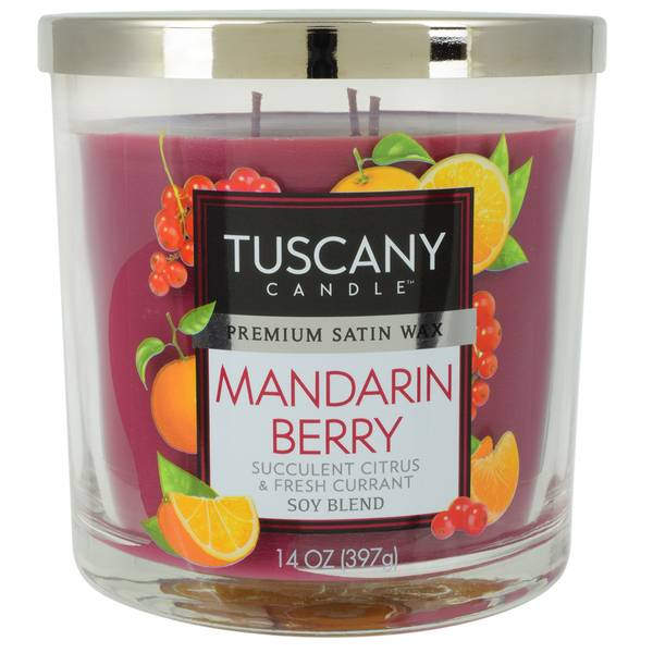 Mandarin Berry Candle