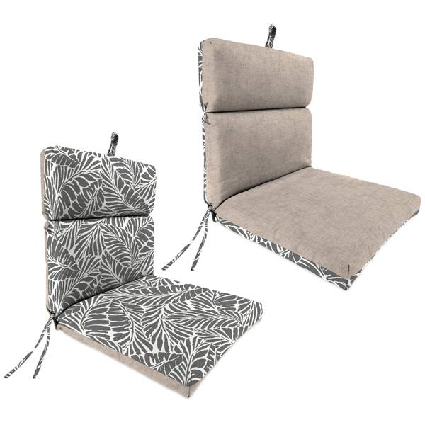 "21"" X 43"" Jackson Oyster & Malk Smoke Chair Cushion"