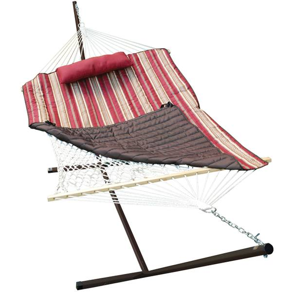 cotton rope hammock stand pad pillow  bo algoma cotton rope hammock stand pad pillow  bo  rh   farmandfleet
