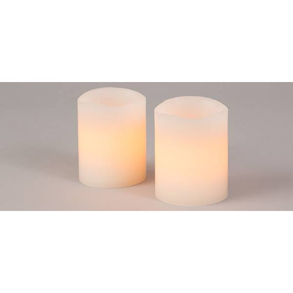 Blackened Wick LED Candles