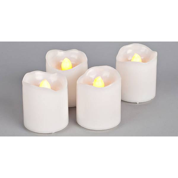 Resin Votive LED Candles with Timer
