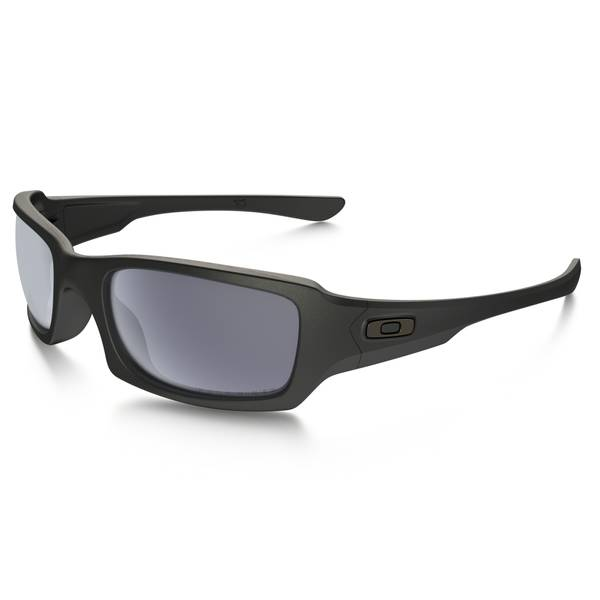 Fives Squared Polarized Matte Black Frame Sunglasses