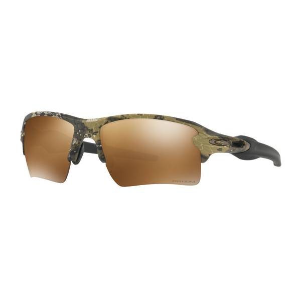 Standard Issue Flak 2.0 XL Desolve Camouflage Prizm Polarized Sunglasses
