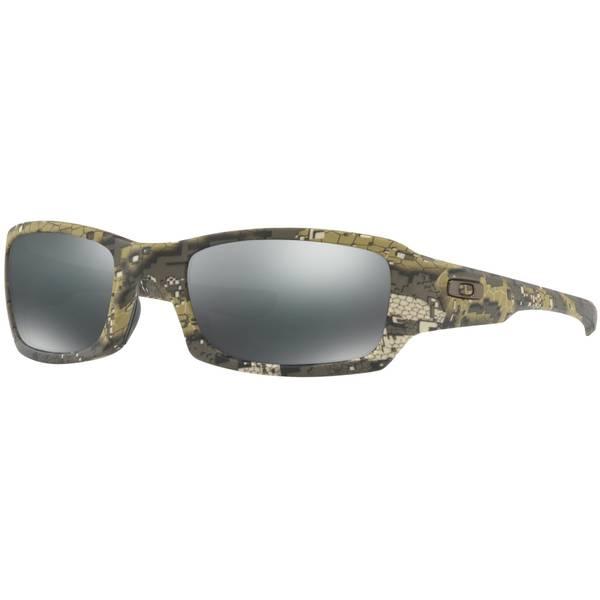 Oakley Men s Fives Squared Polarized Camo Frame Sunglasses 8351898ab