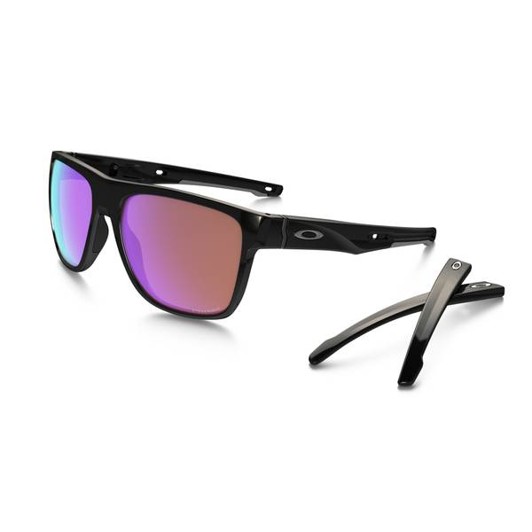Crossrange XL Polished Black Frame Sunglasses