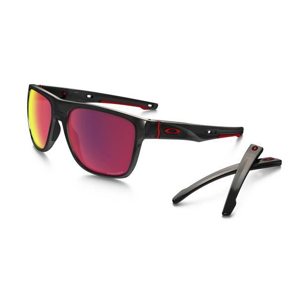 Crossrange XL Polished Black Frame Sunglasses