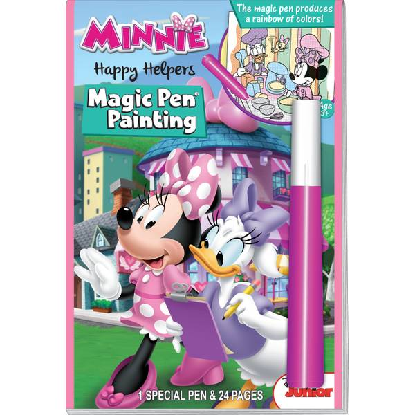 Minnie Happy Helpers Magic Pen Book