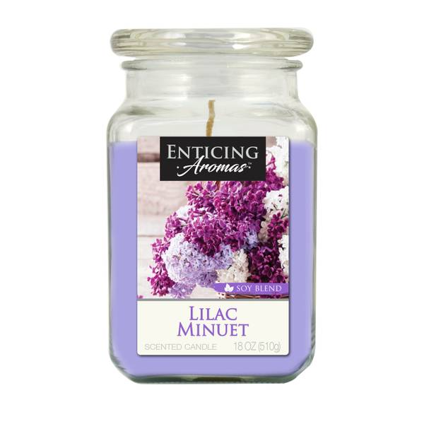 Lilac Minuet Candle