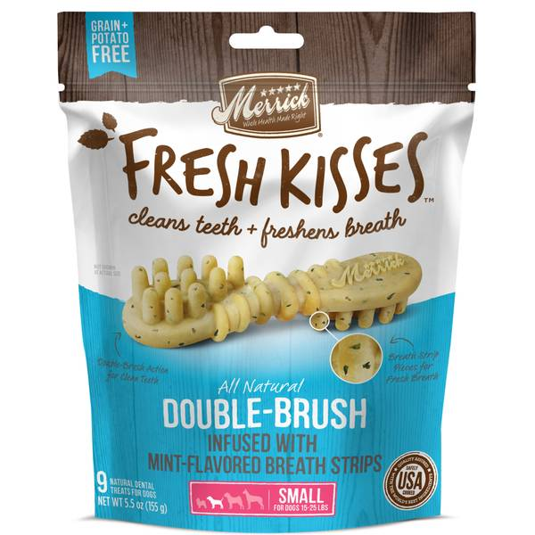 Fresh Kisses Mint Breath Dental Dog Treats
