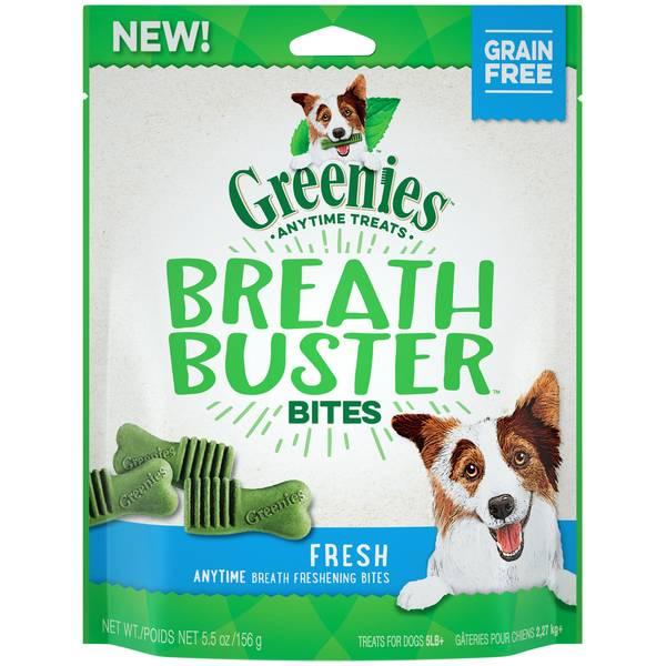 Fresh Breath Buster Dog Bites