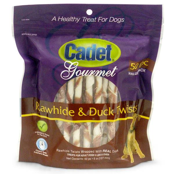 Rawhide & Duck Twists