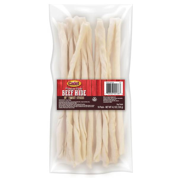 Rawhide Pet Twisty Sticks