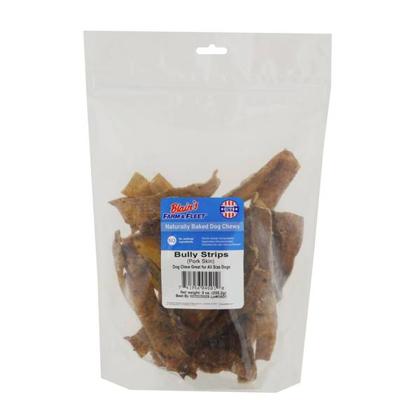 9 oz. Bully Pork Skin Strips