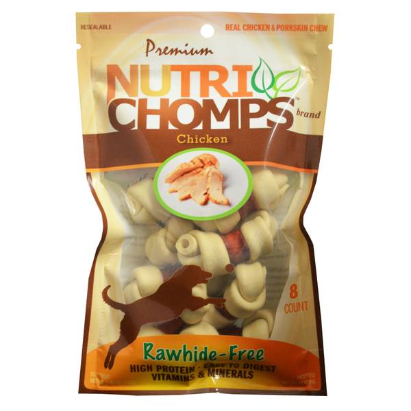 Nutri-Chomps Chicken Dog Chews