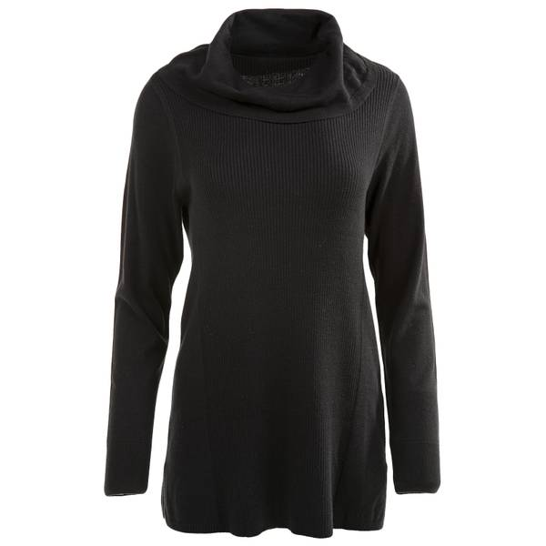 Women's Solid Cowl Neck Sweater