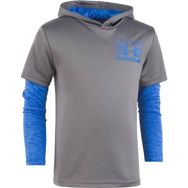 Toddler Boy's Graphite Training Hoodie