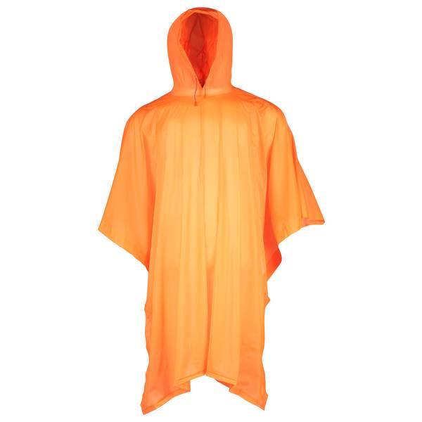 Men's Blaze Orange .15mm PVC Poncho