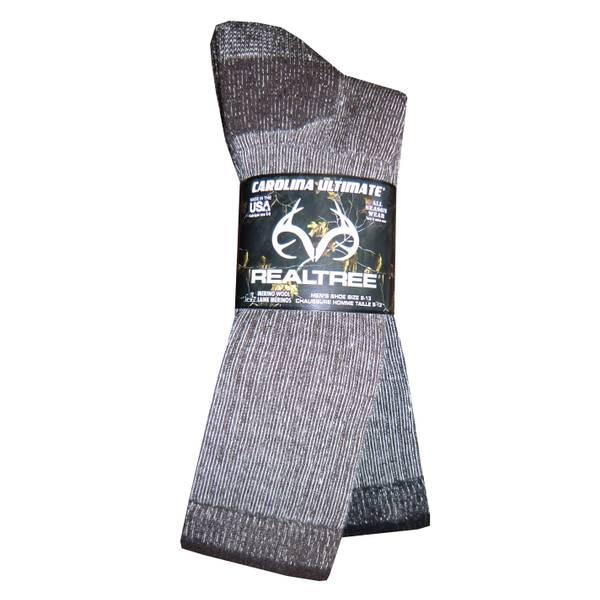 realtree men u0026 39 s full cushion merino wool socks