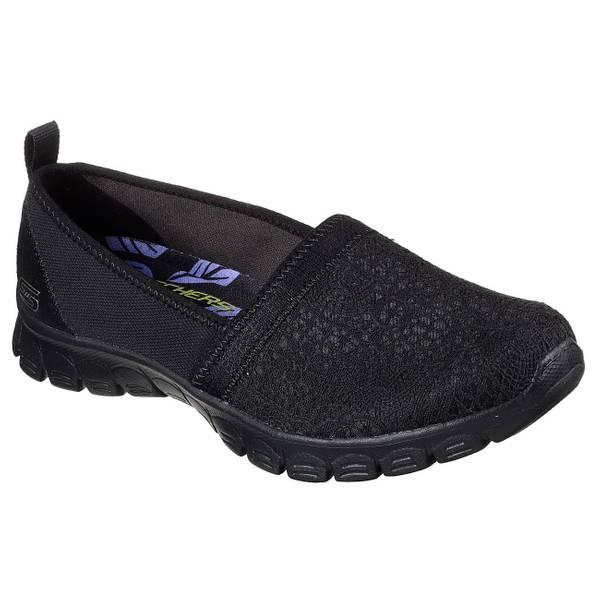 Women's Black EZ Flex 3.0 - Quick Escapade Slip-On Sneakers