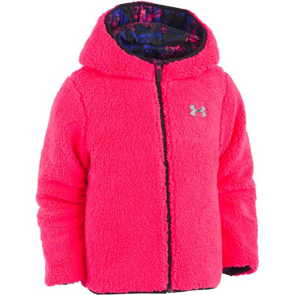 Little Girls' Reversible Puffer Jacket
