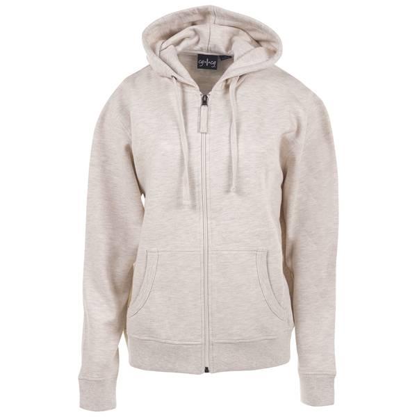 Women's Unlined Fleece Full Zip Hoodie