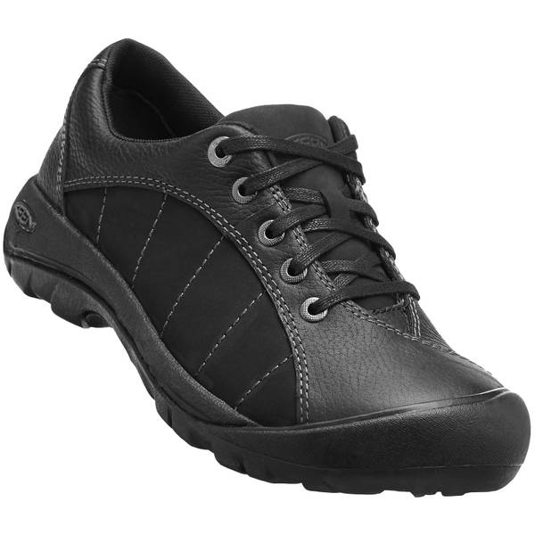 Women's Black & Magnet Presidio Shoes