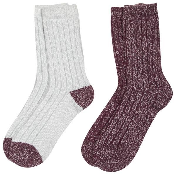 Women's Microfiber Socks - 2 Pack
