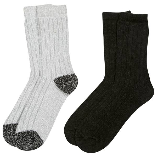 Women's Microfiber Solid Socks - 2 Pack