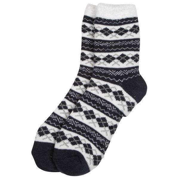 Women's Double Layer Argyle Socks