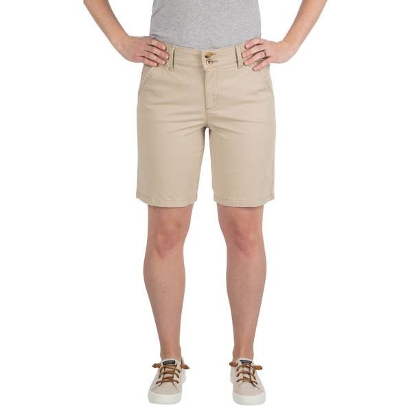 "Misses 9"" Tailored Chino Bermuda Shorts"