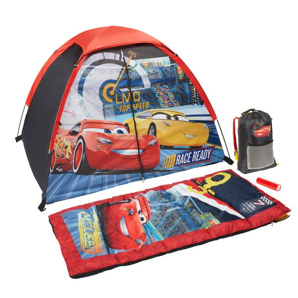 Disney Cars 3 4-Piece Camping Kit