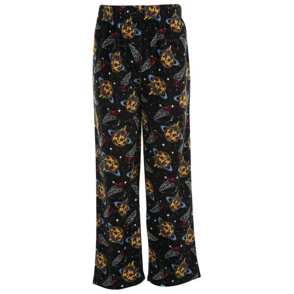 Boys' Space Pizza Fleece Sleep Pants