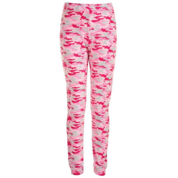 Girls' Camo Fleece Jogger Sleep Pants