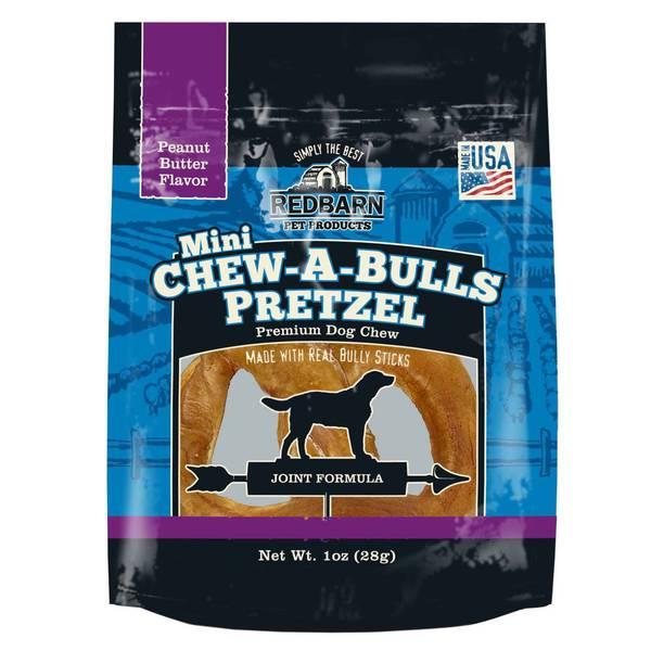 Mini Chew-A-Bulls Pretzel Dog Chew