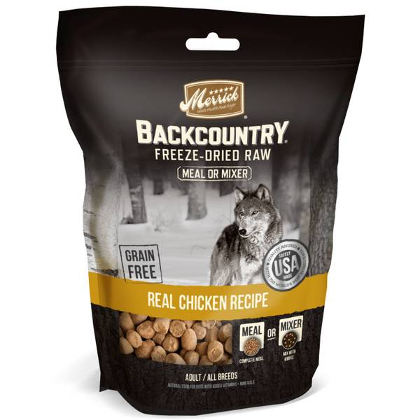 5.5 oz Backcountry Chicken Freeze Dried Meal Mixer