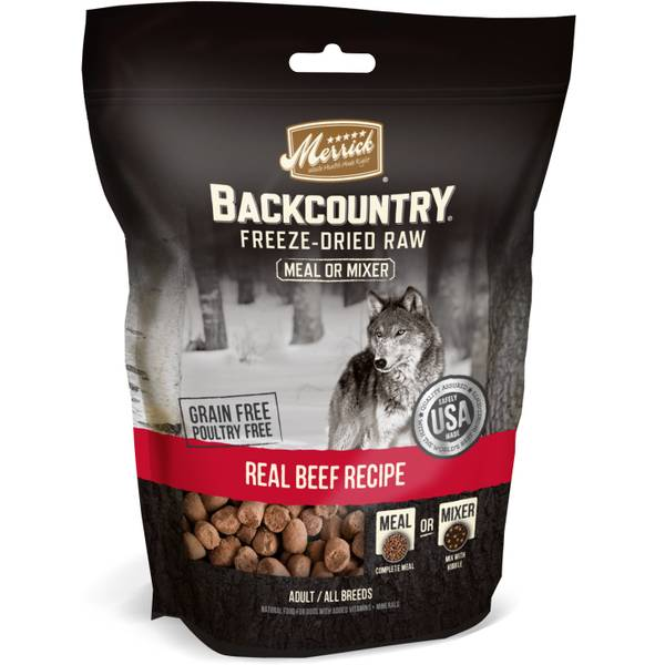 5.5 oz Backcountry Beef Freeze Dried Meal Mixer