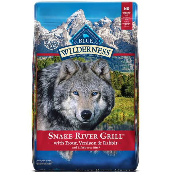 Wilderness Snake River Grill Dog Food