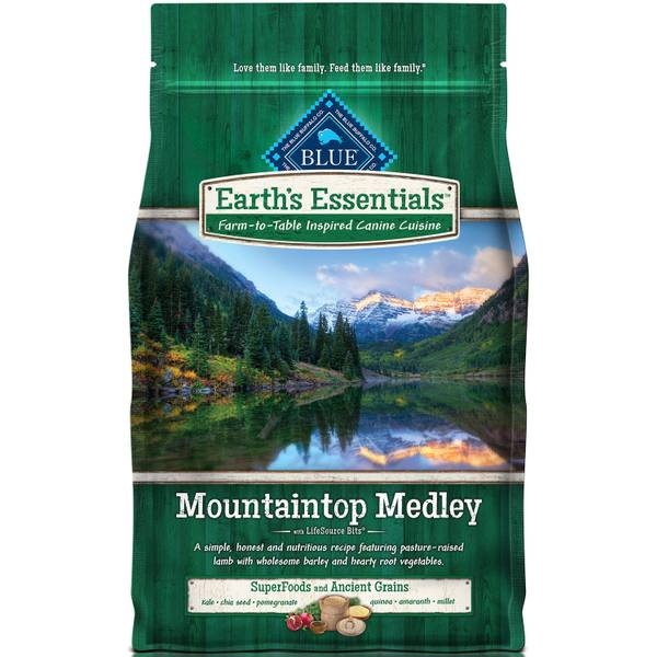 Earth's Essentials Mountaintop Medley Dog Food