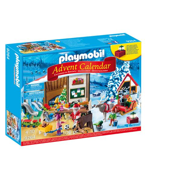 Advent Calendar Santa's Workshop Playset
